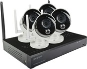 Concord 4 Channel Wireless NVR Package - 4x1080p Cameras