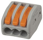 3 Way WAGO Splice Terminal Block