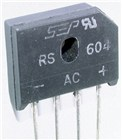 6A 400V Inline Bridge Rectifier