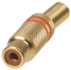 RCA Gold Line Socket WITH SPRING