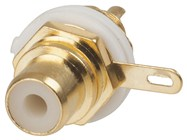 High Quality Gold Insulated Socket - Yellow