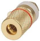 Red Gold BANANA Socket BINDING POST
