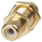 Gold RCA Socket / F-61 Socket