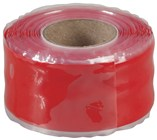 Red Self-Fusing Silicon Tape 25mm x 3m