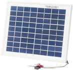 12V 5W Solar Panel with Clips