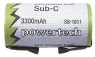 1.2V High Discharge 3300mAh Sub C Ni-MH Battery