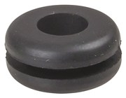9.5mm Rubber Grommets - Cable Dia 6mm - Pk.8