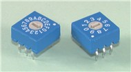 Binary Coded DIL Rotary Switches - BINARY CODED HEX
