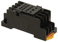 4PDT DIN Rail Mount Relay Cradle