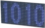 Blue LED Dot Matrix Display for Arduino