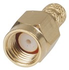 Gold SMA CRIMP Plug - RG58U