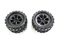 Pack of 2 Rear Tyres for GT3788 Truck