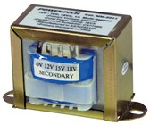 12V - 18V, 18VA, 1A Multi-Tapped - Type 2154 Transformer