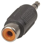 3.5mm Mono Plug to RCA Socket Adaptor