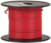 Red Light Duty Hook-up Wire - 25m.