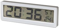 LCD Clock with Thermometer