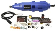210 Piece Rotary Tool Kit with Flexible Shaft Engrave Drill Sand Polish