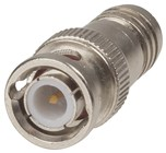 BNC Line Plug with Integral Crimp Ring & Centre Pin