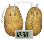 Potato Powered Clock Kit
