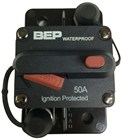 BEP 50A Waterproof Panel Mount Circuit Breaker with Manual Disconnect