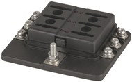 6 Way Blade Fuse Block - Screw Terminal Connection