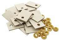 Adhesive Transistor Mounting Washer Kits