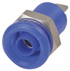 4mm Panel Mount Banana Socket Blue