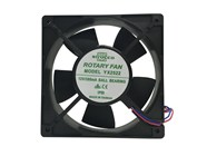 IP55 Rated 120mm 12V DC Ball Bearing Fan