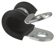 Stainless Steel P Clamp 8mm - 10 Pack