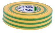PVC Insulation Tape - Yellow/Green - 20m