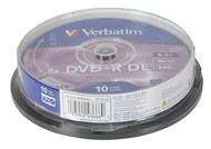 Verbatim DVD+R DL 8.5GB 8x Spindle 10 Pack