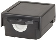 Snap in Enclosure Black 91 X 79 X 45mm
