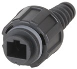 Rugged RJ45 Connectors IP67 Rated Plug