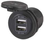 Easy-Install 2x2.1A Dual USB Charging Ports