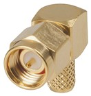 Right Angle Crimp RG58-U SMA RF Plug