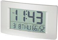 Multi-Function LCD Wall Clock