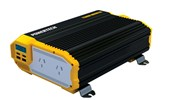 1100W (2200W) 12VDC to 240VAC Modified Sinewave Inverter with 2X2.1USB and LCD Display
