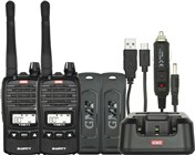 GME 2W UHF Transceiver TX677TP Twin Pack
