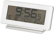 LCD Desk Clock with Alarm