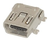 USB Mini-B PC Surface Mount Socket