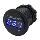 Blue LED Display Thermometer with 3mtr External Sensor