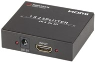 2 Way Hdmi Splitter With 4K Support