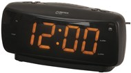 Large-Digit Alarm Clock with AM/FM Radio