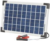 12V 10W Solar Panel with Clips