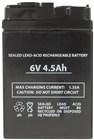 6V 4.5Ah SLA Battery to suit Rechargeable Fans