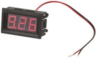Self-Powered Red LED Voltmeter