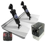 Bennett M120 (10inx12in) Electric Hydraulic Trim Tab Kit LED IND