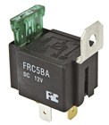Automotive Fused Relay - SPST 30A