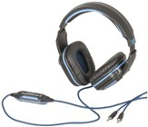 Gaming Headphones with Adjustable Microphone