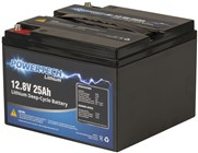 12.8V 25Ah Lithium Deep Cycle Battery